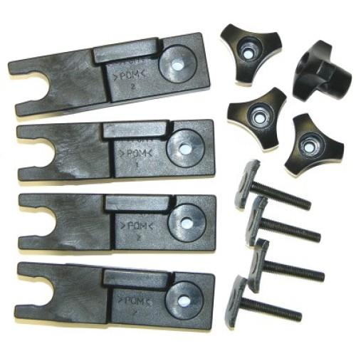 Sada adaptérov (20x27mm) pre Thule 80 mm upínací systém U-Bolt