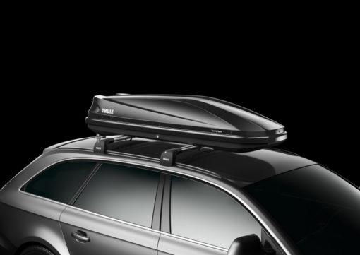Touring Sport lesklá čierna, jednostranné otváranie
