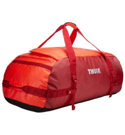 Thule Chasm 130 l cestovná taška CHASM130RO - oranžová/červená