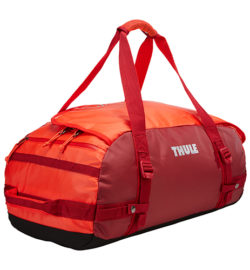 Thule Chasm 40 l cestovná taška CHASM40RO – oranžová/červená