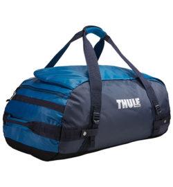 Thule Chasm 70 l cestovná taška CHASM70DB – modrá/sivá