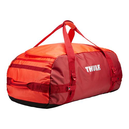 Thule Chasm 90 l cestovná taška CHASM90RO – oranžová/červená